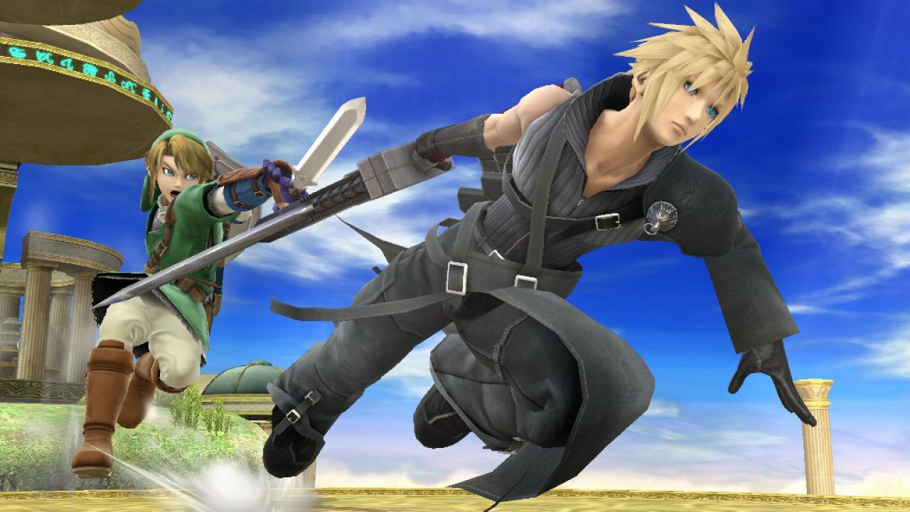 Super Smash Bros: 12 nuove immagini per Cloud