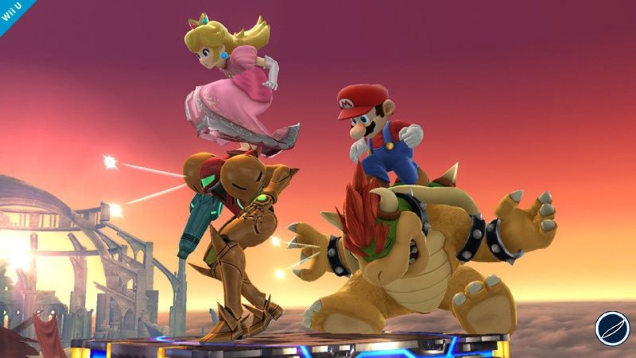 Super Smash Bros mostra Samus in pantaloncini