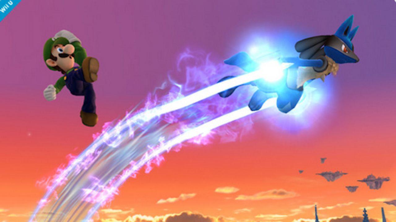 Super Smash Bros: il pokemon leggendario Palkia si mostra in un'immagine
