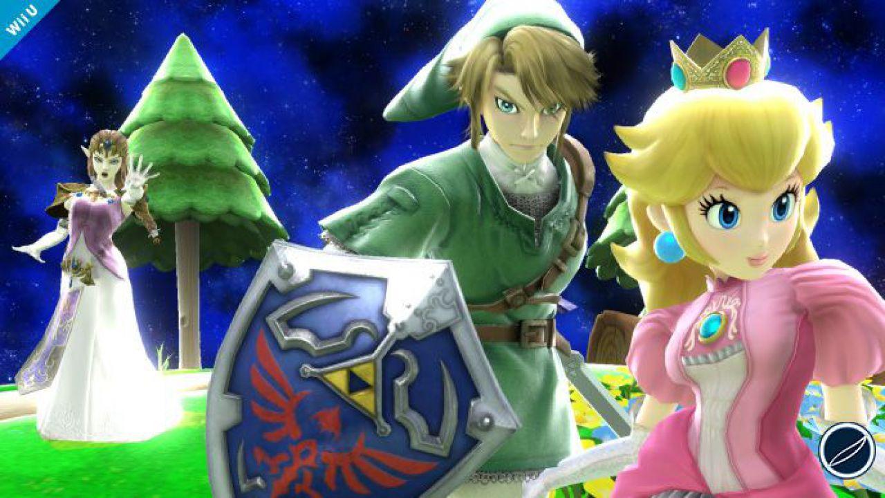 Super Smash Bros: screenshot con Ike e Super Mario