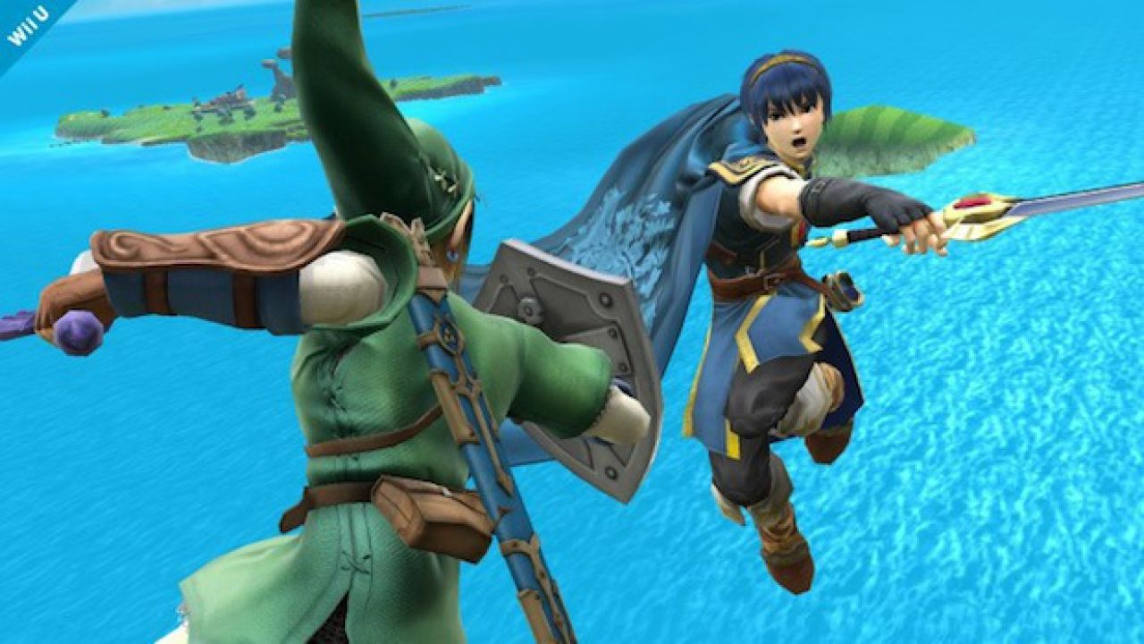 Super Smash Bros: screenshot della versione Nintendo 3DS