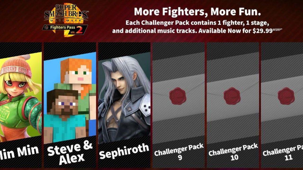 Super Smash Bros Ultimate, leak per i 3 DLC? Previsione precedente si rivela accurata