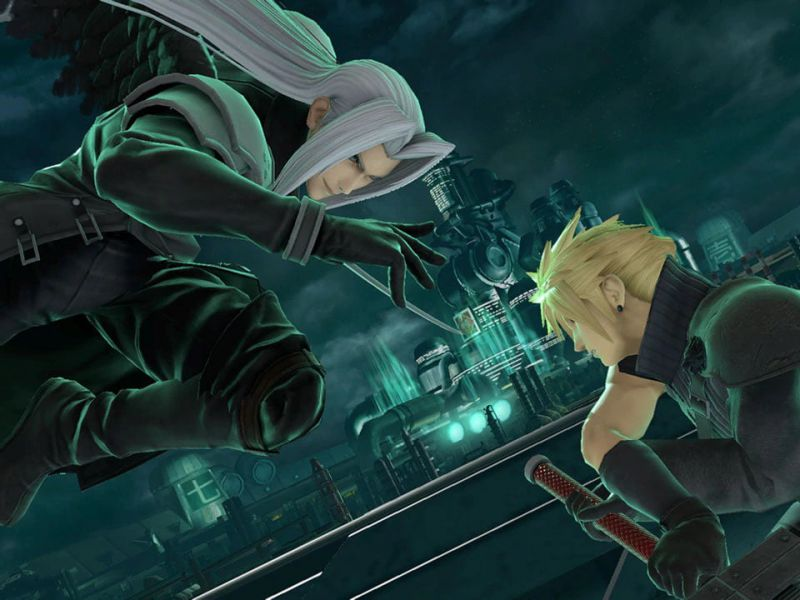 Super Smash Bros. Ultimate, Sephiroth finds a place on the mural: guess where he is