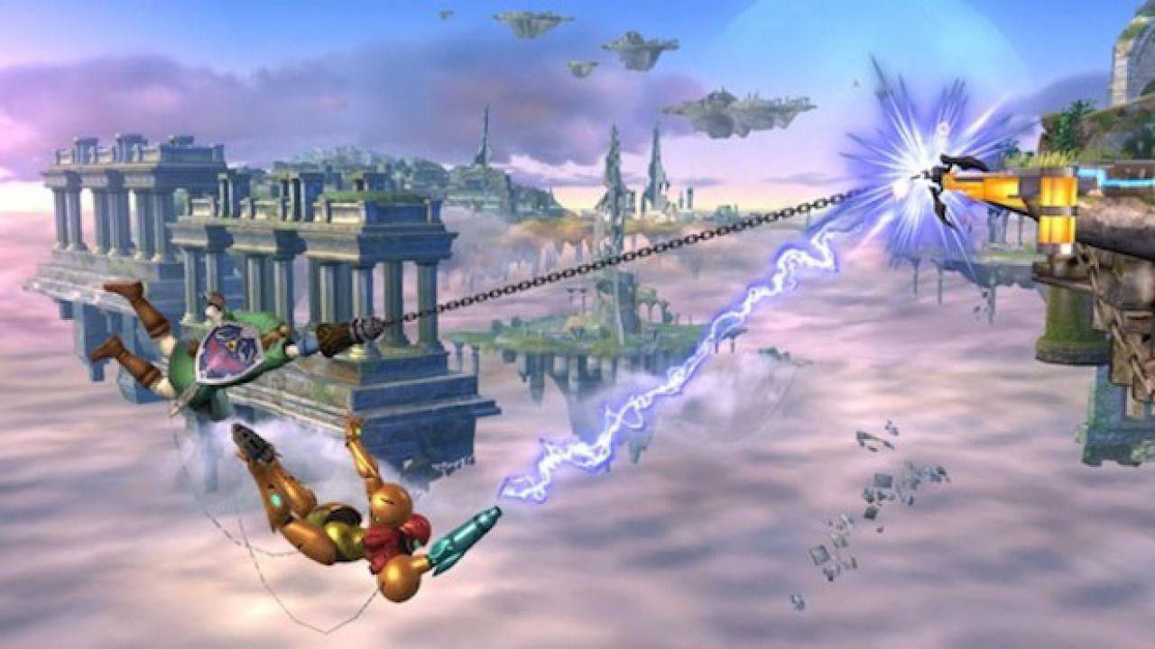 Super Smash Bros: un'immagine per la versione Wii U