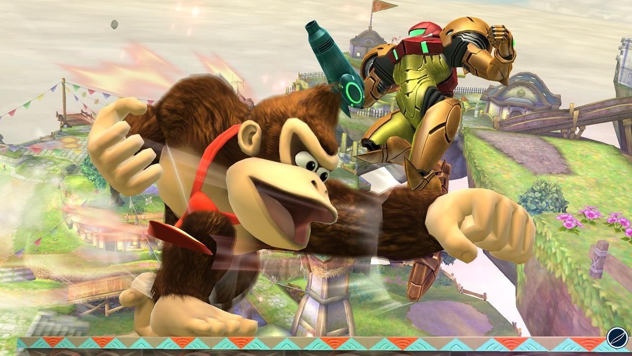 Super Smash Bros: video con la sequenza iniziale della versione Wii U