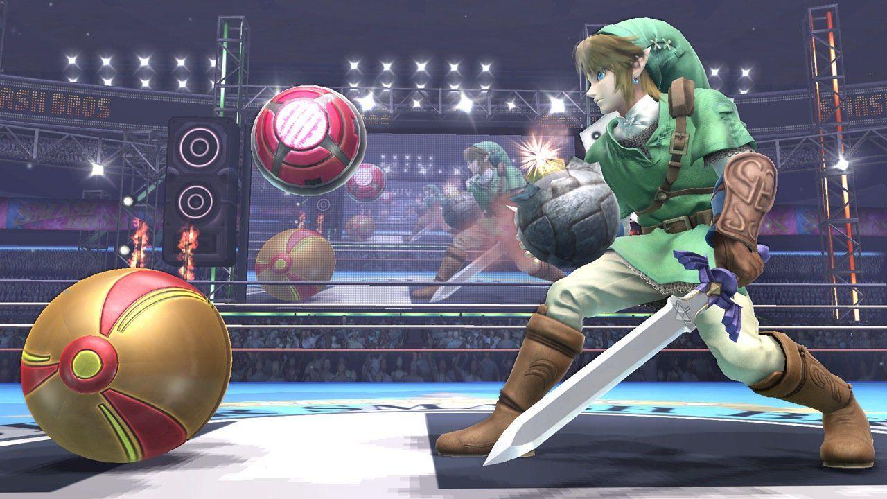 Super Smash Bros Wii U: un'immagine mostra i contorni dei personaggi