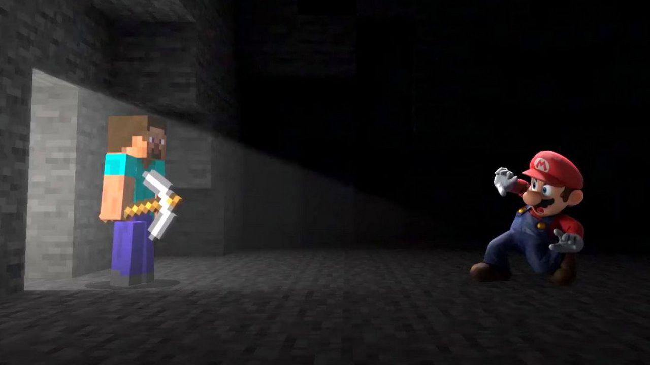 Super Smash Bros x Minecraft: l'accordo tra Microsoft e Nintendo ha richiesto 5 anni!