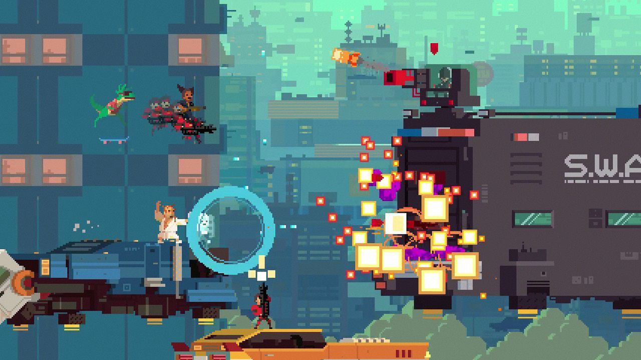 Super Time Force è disponibile su Xbox One ed Xbox 360