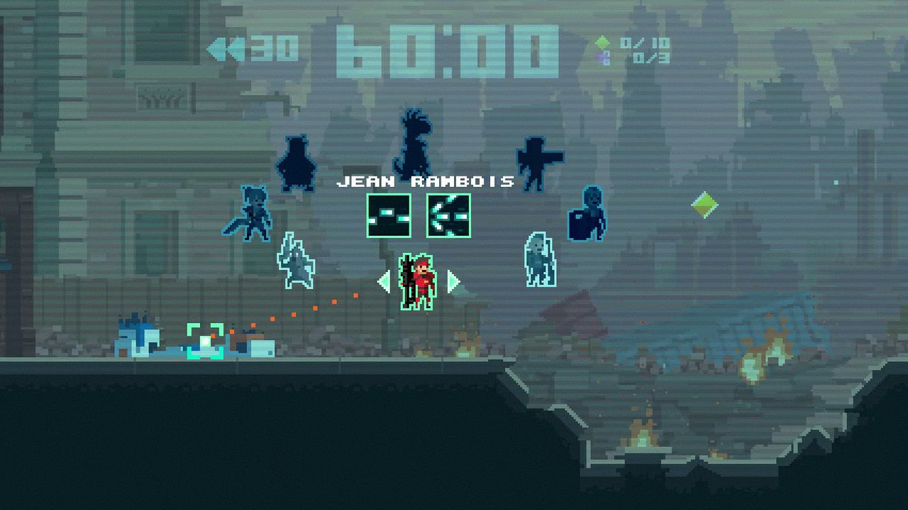 Super Time Force si mostra in nuove immagini