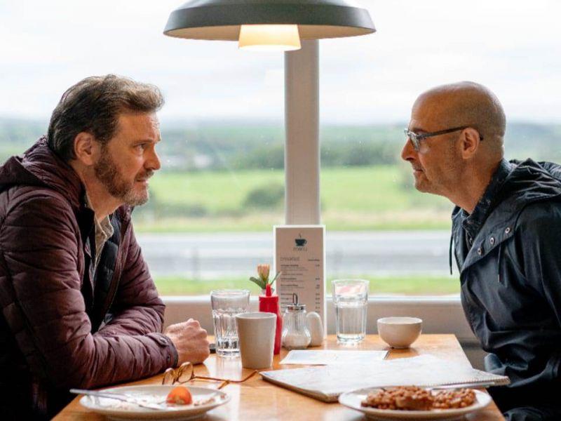Supernova, Stanley Tucci elogia Colin Firth:'Lo adoro, per il film ci scambiammo i ruoli'