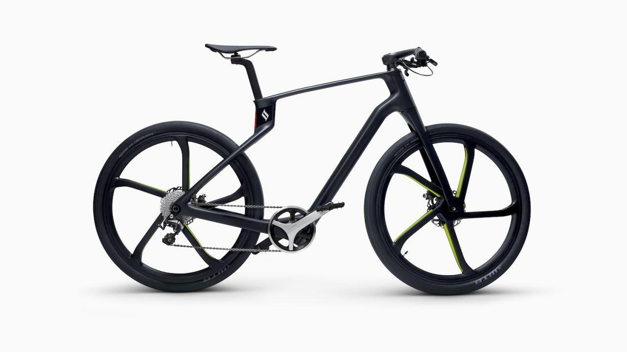 Superstrata Ion, la bici elettrica stampata su misura in fibra di carbonio