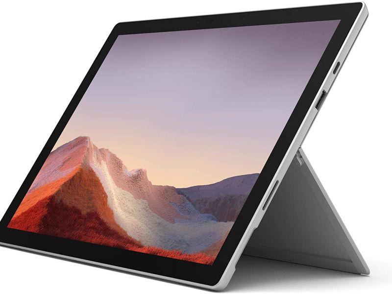 Surface Pro 7 con processore Intel Core i5 è in offerta su Amazon: 300 Euro di sconto!