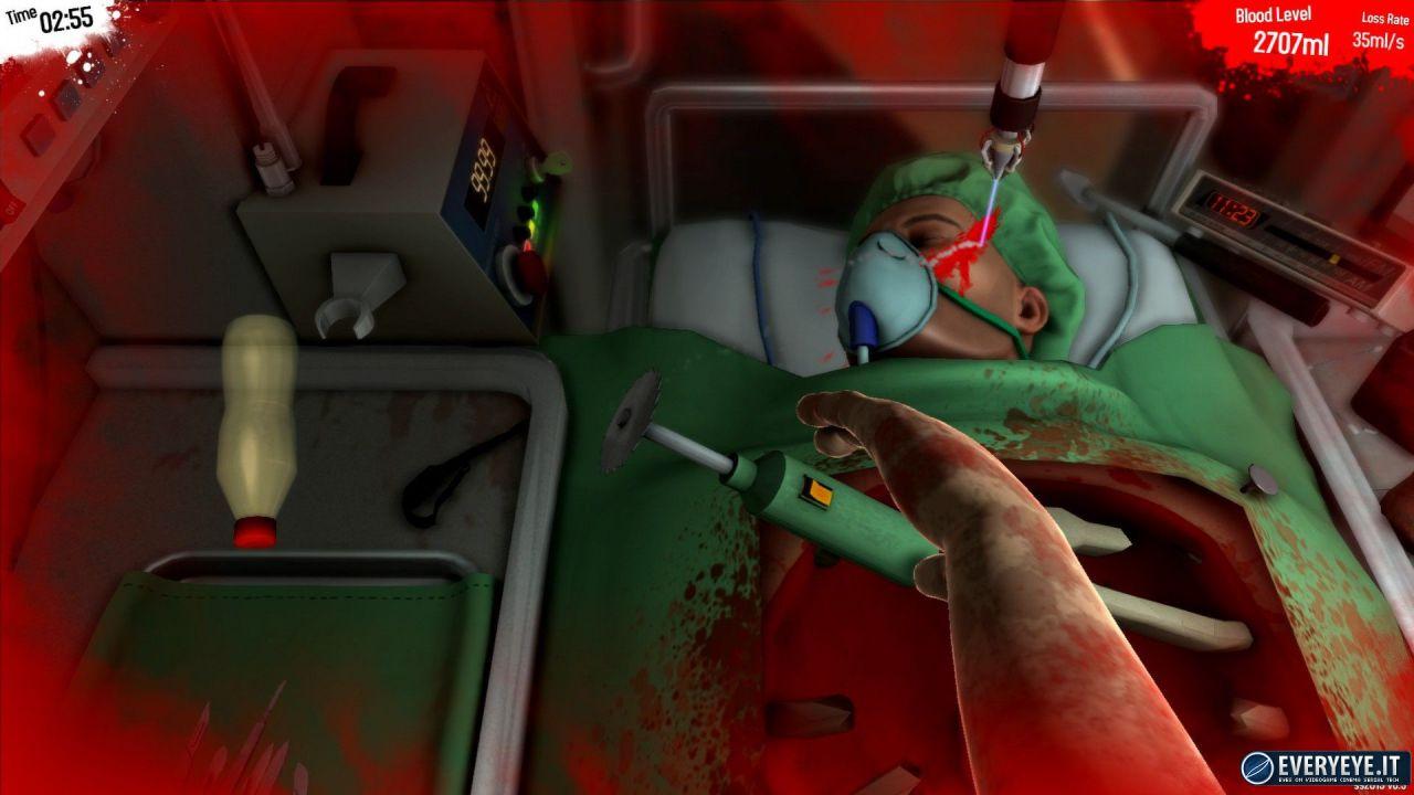 Surgeon Simulator 2013 disponibile da oggi su Mac
