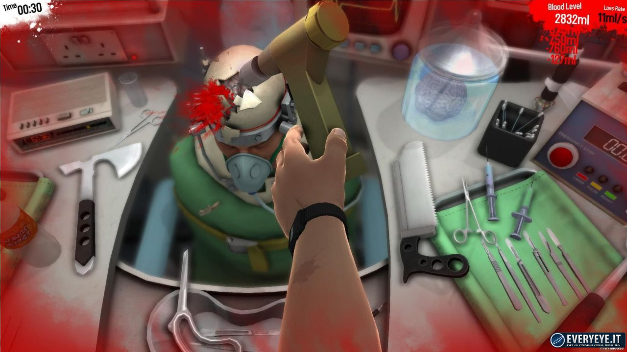Surgeon Simulator disponibile su iPad