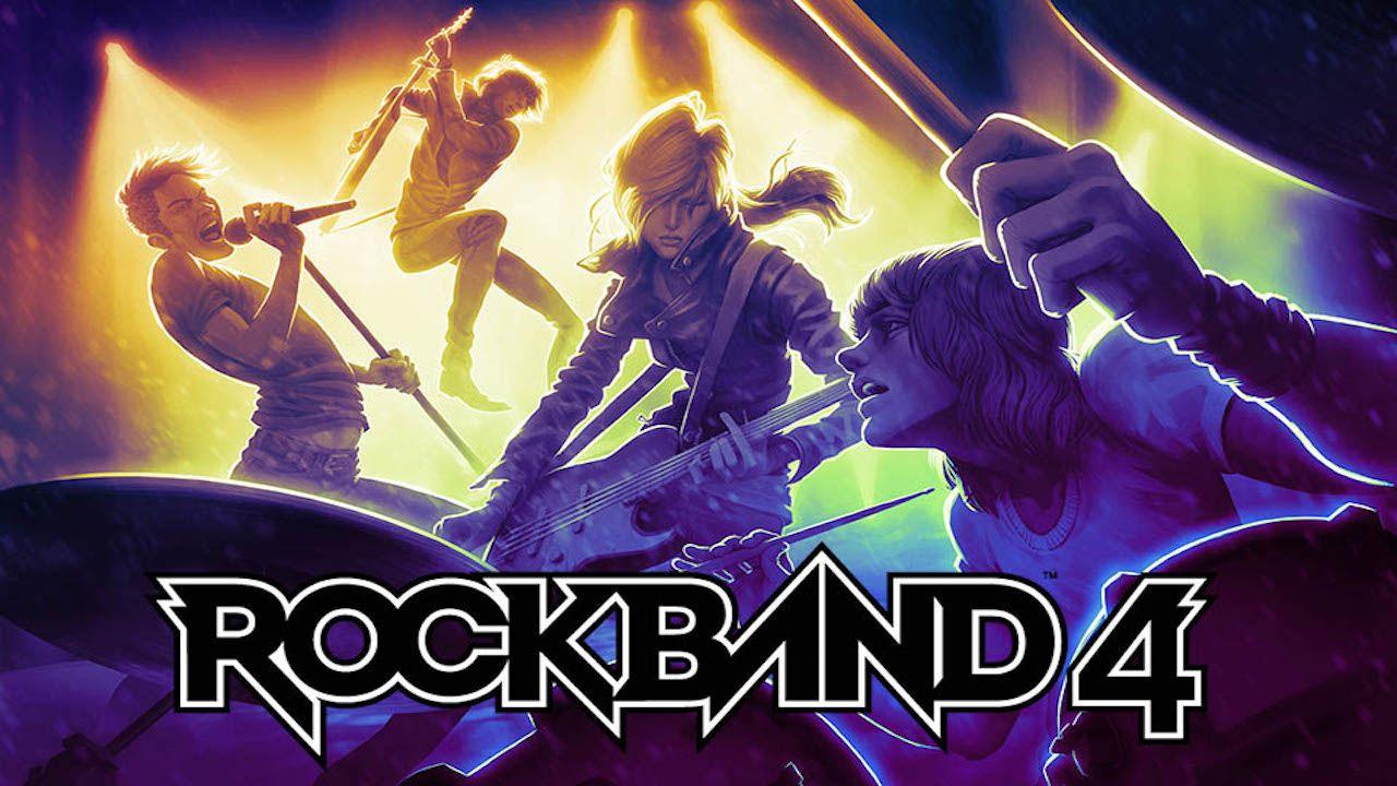 Svelata la copertina di Rock Band 4, maggiori dettagli sul gioco all'E3