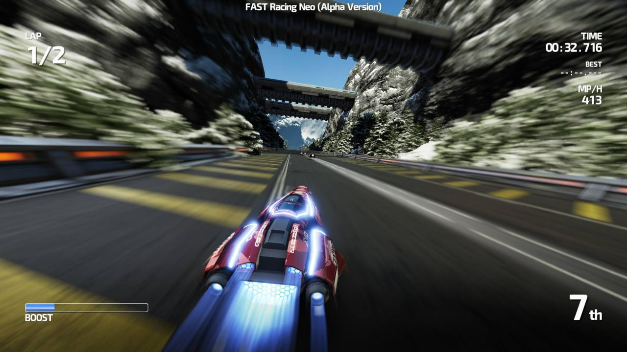 Svelato il peso del download di FAST Racing Neo