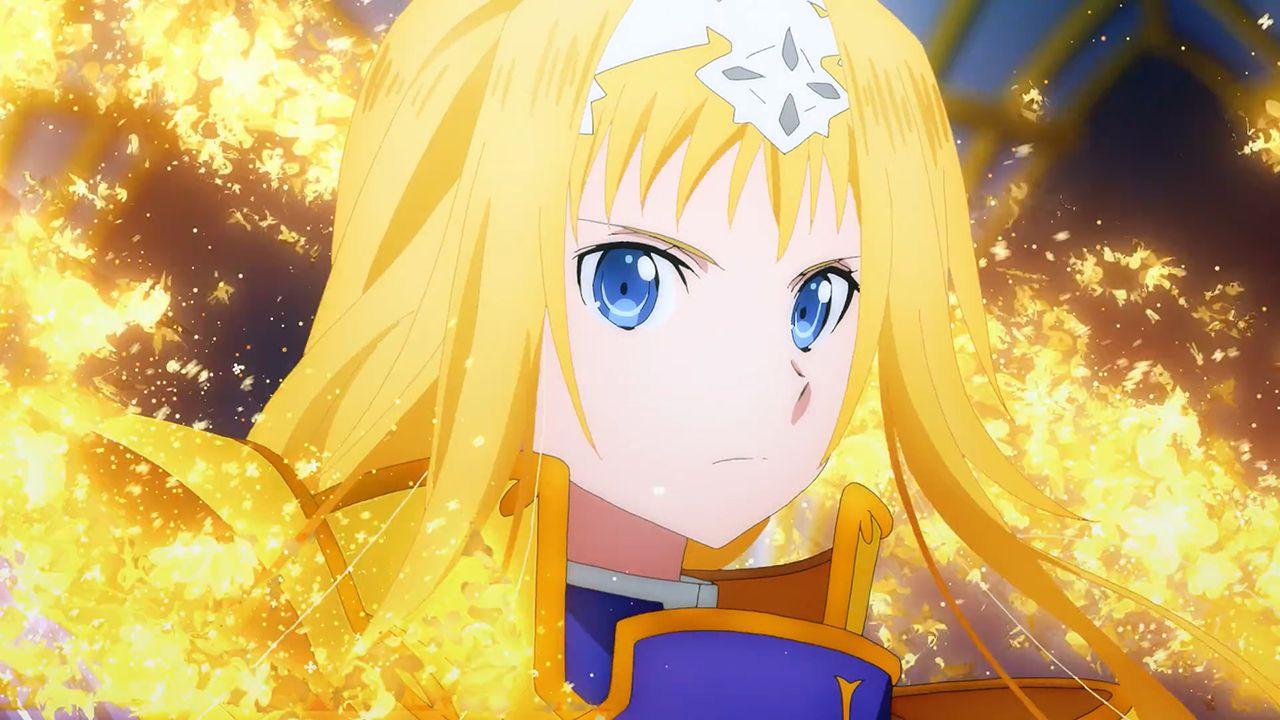 Sword Art Online: Alicization War of Underworld 22 e la dichiarazione  d'amore di Alice