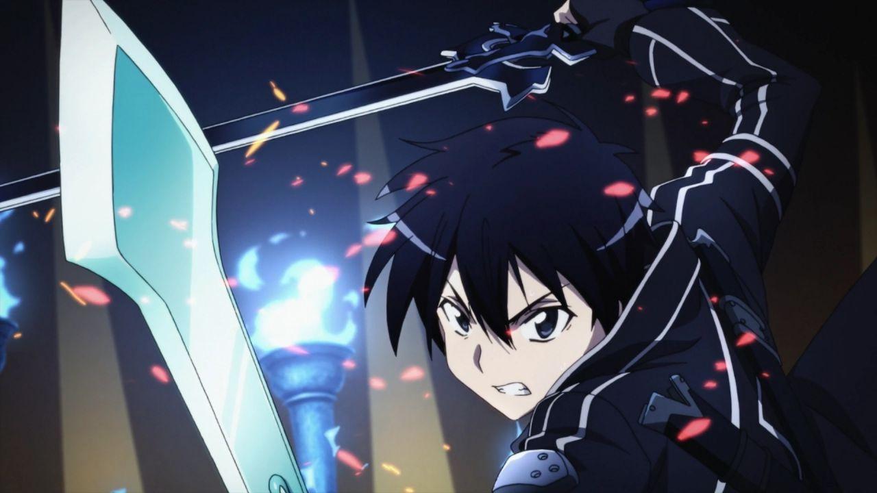 Sword Art Online: quali sono le armi più potenti impugnate da Kirito?