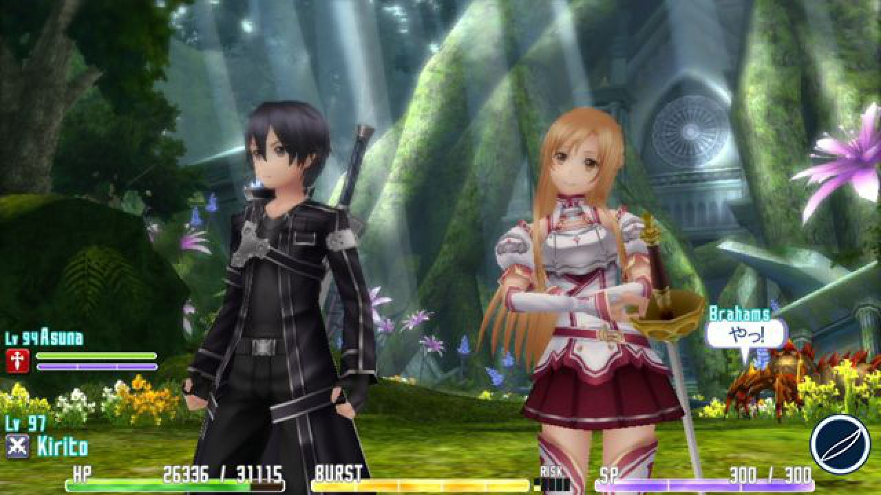 Sword Art Online: Hollow Fragment giocato con Oculus Rift