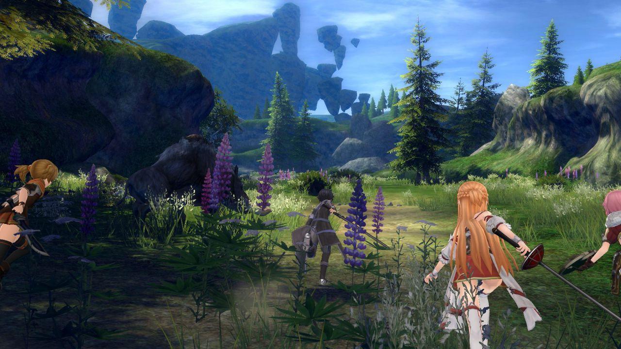 Sword Art Online Hollow Realization: Alcune immagini mostrano la personalizzazione del protagonista