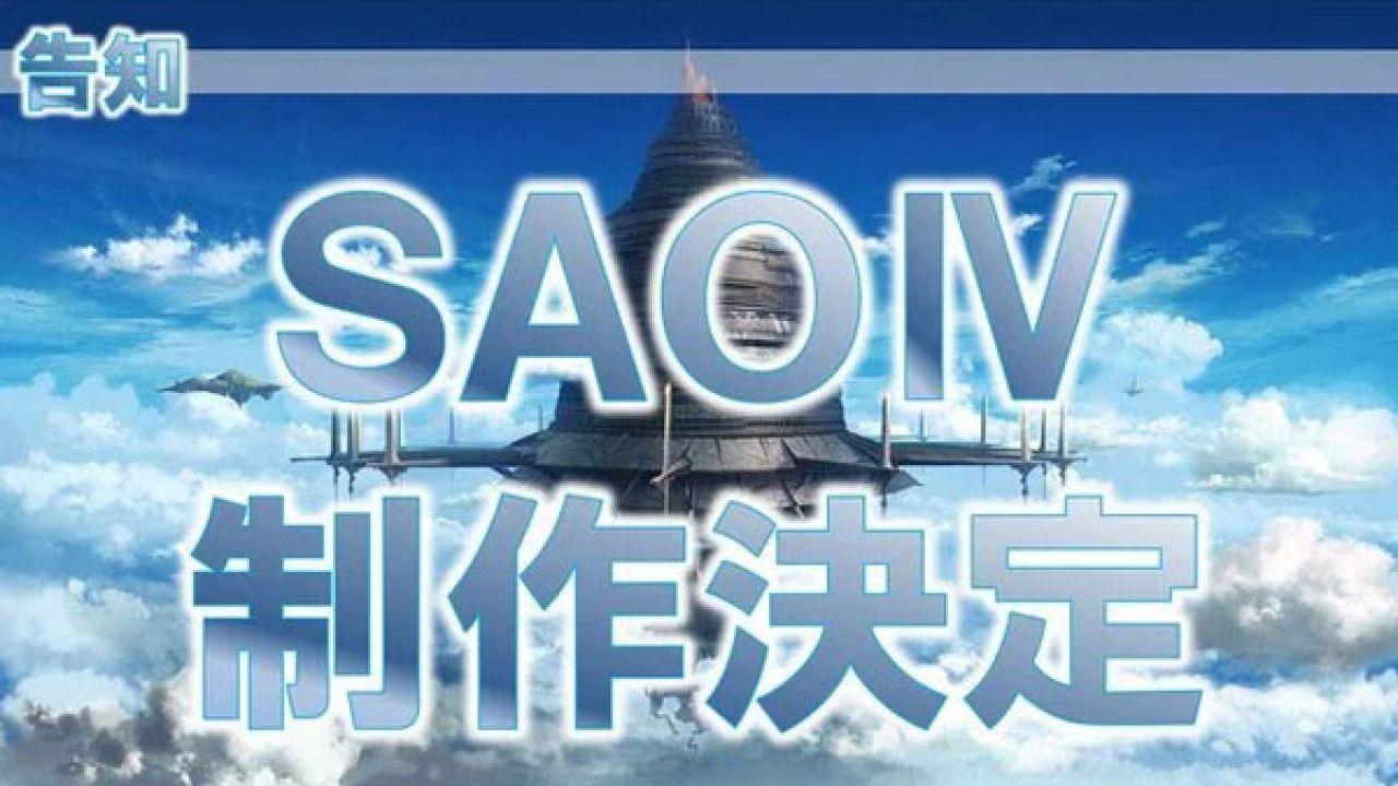Sword Art Online IV annunciato al Tokyo Game Show
