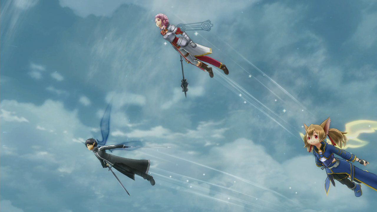 Sword Art Online: Lost Song, prime immagini di Philia e Klein
