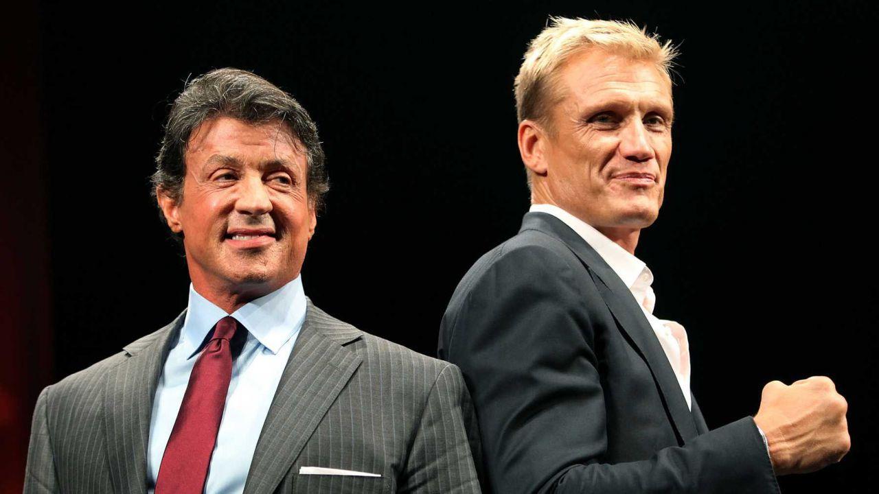 Sylvester Stallone si congratula con Dolph Lundgren per il fidanzamento: 'Sei il migliore'
