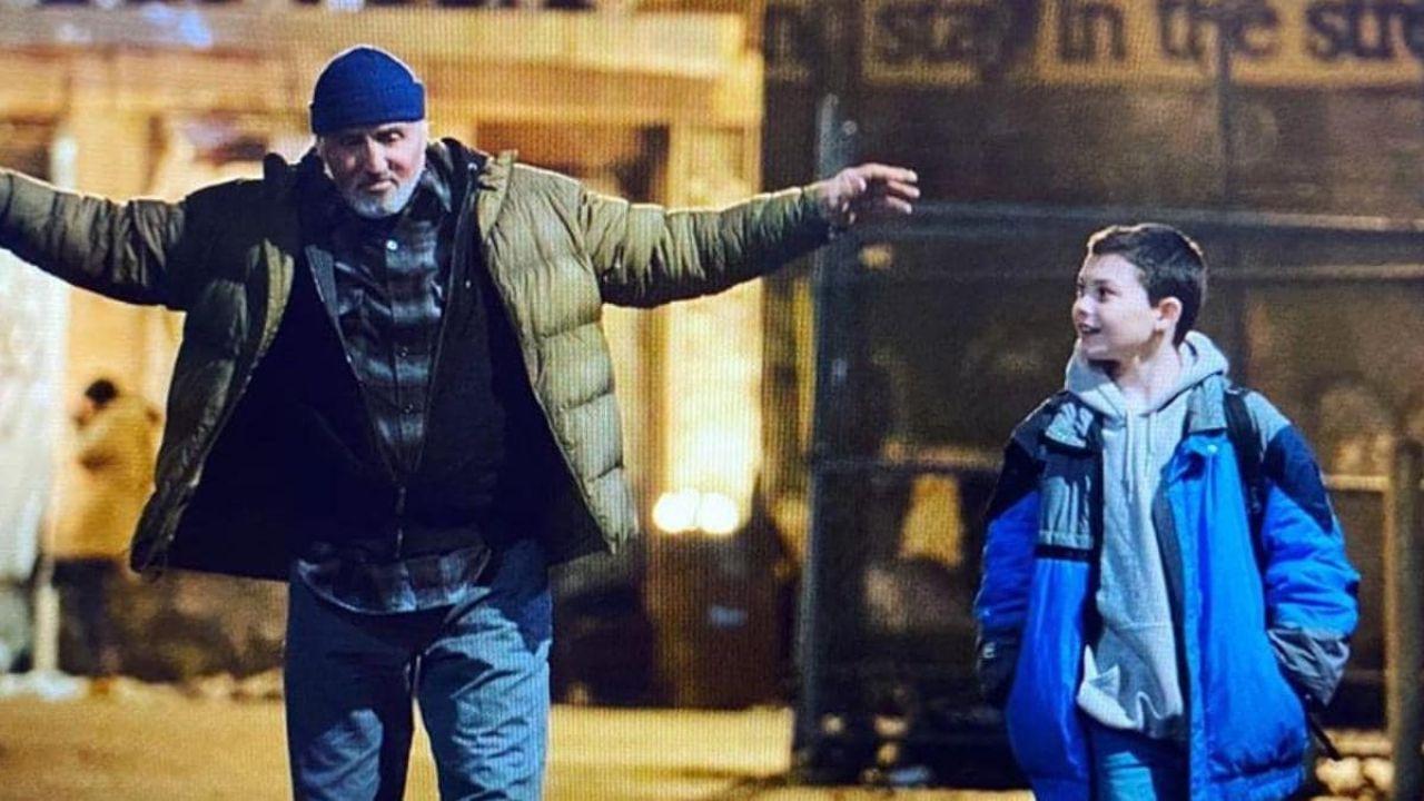 Sylvester Stallone, la moglie lo chiama durante le riprese del film: ecco il video!