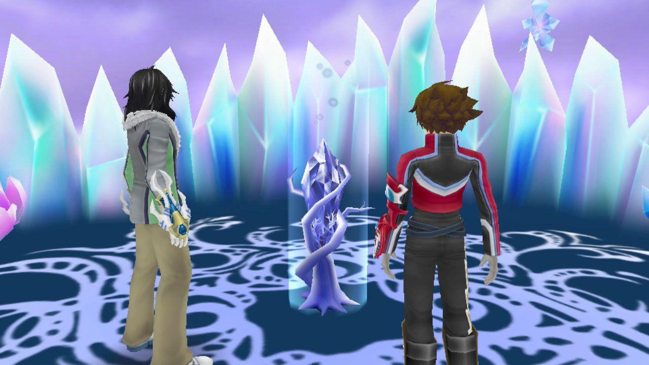 Tales of Hearts R: video gameplay off-screen da 37 minuti