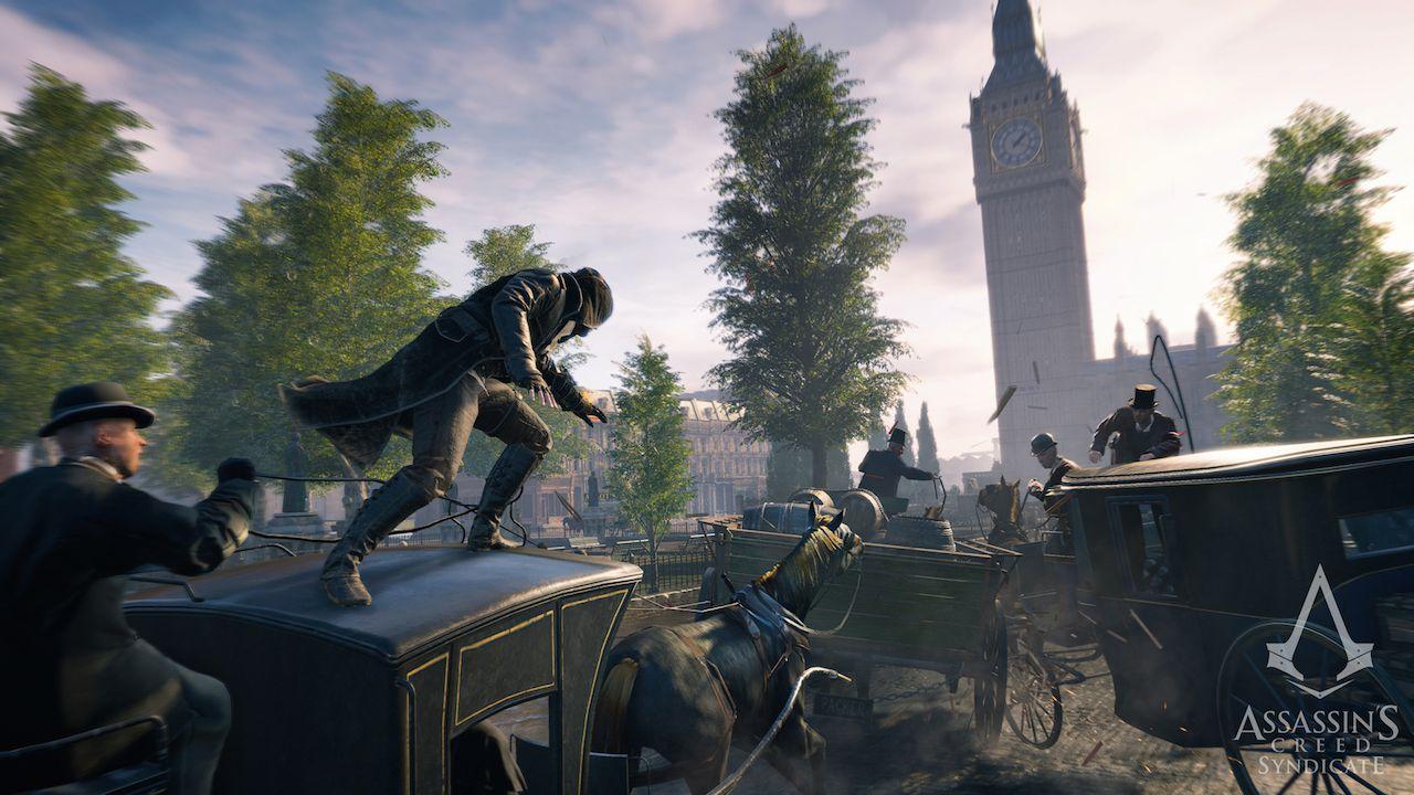Tanti mezzi di trasporto cambieranno il modo di giocare Assassin's Creed Syndicate