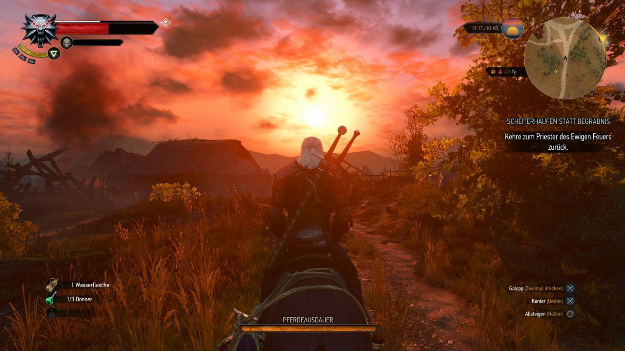 Tanti utenti pubblicano i propri scatti di The Witcher 3 Wild Hunt
