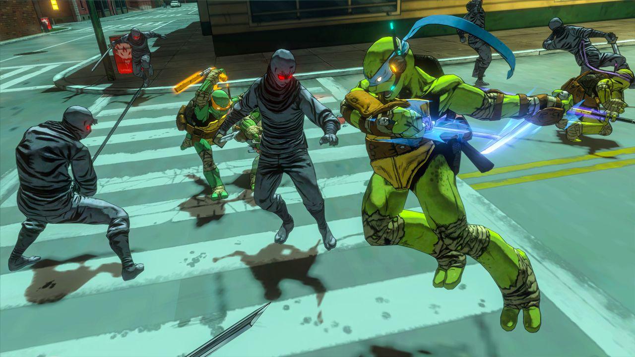 Teenage Mutant Ninja Turtles Mutanti a Manhattan: il gameplay trailer di Leonardo