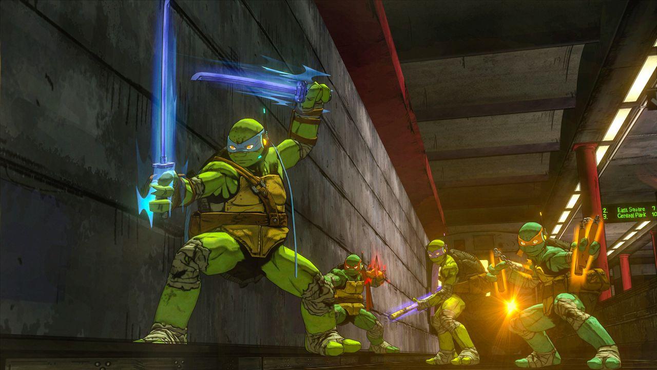 Teenage Mutant Ninja Turtles Mutanti a Manhattan si rivede in un filmato off-screen dal PAX East