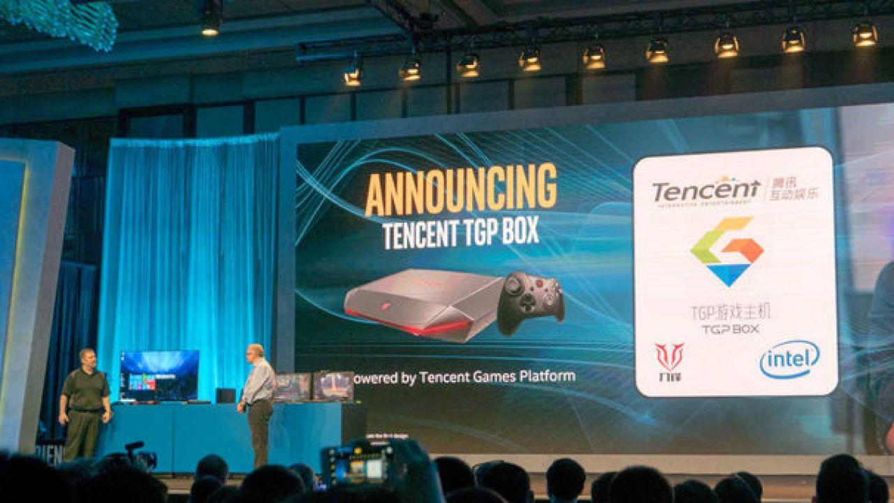 Tencent annuncia la nuova console TGP Box