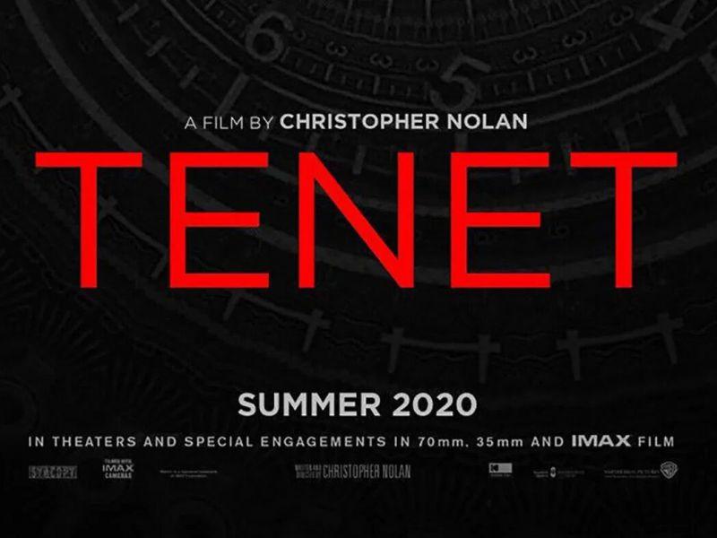Tenet, perché il film di Christopher Nolan ha cambiato logo?