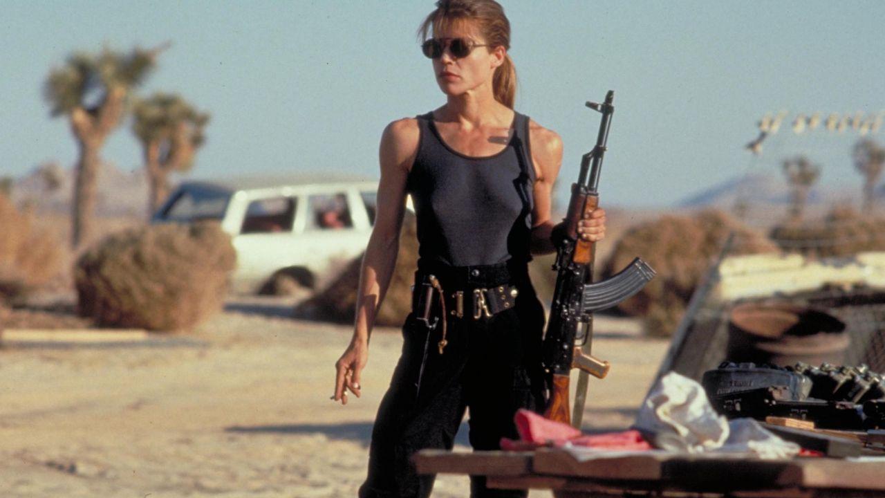 Terminator 6: Sarah Connor nelle nuove foto dal set