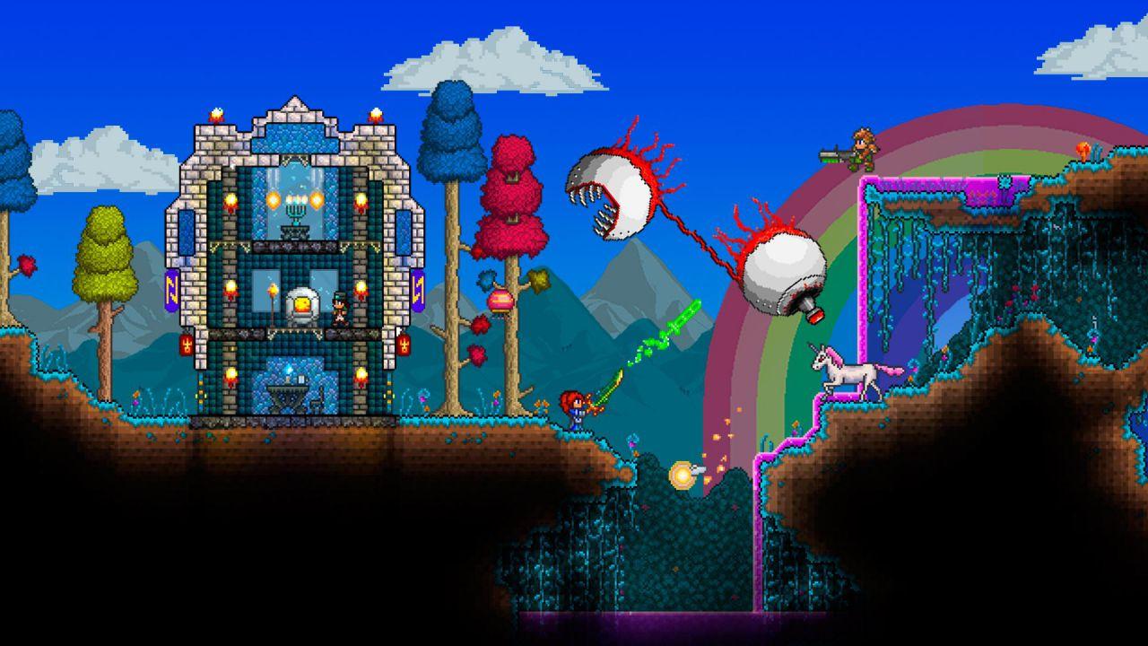 Terraria arriva su Wii U