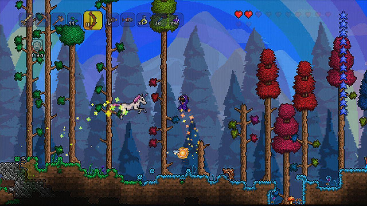 Terraria disponibile per PS Vita