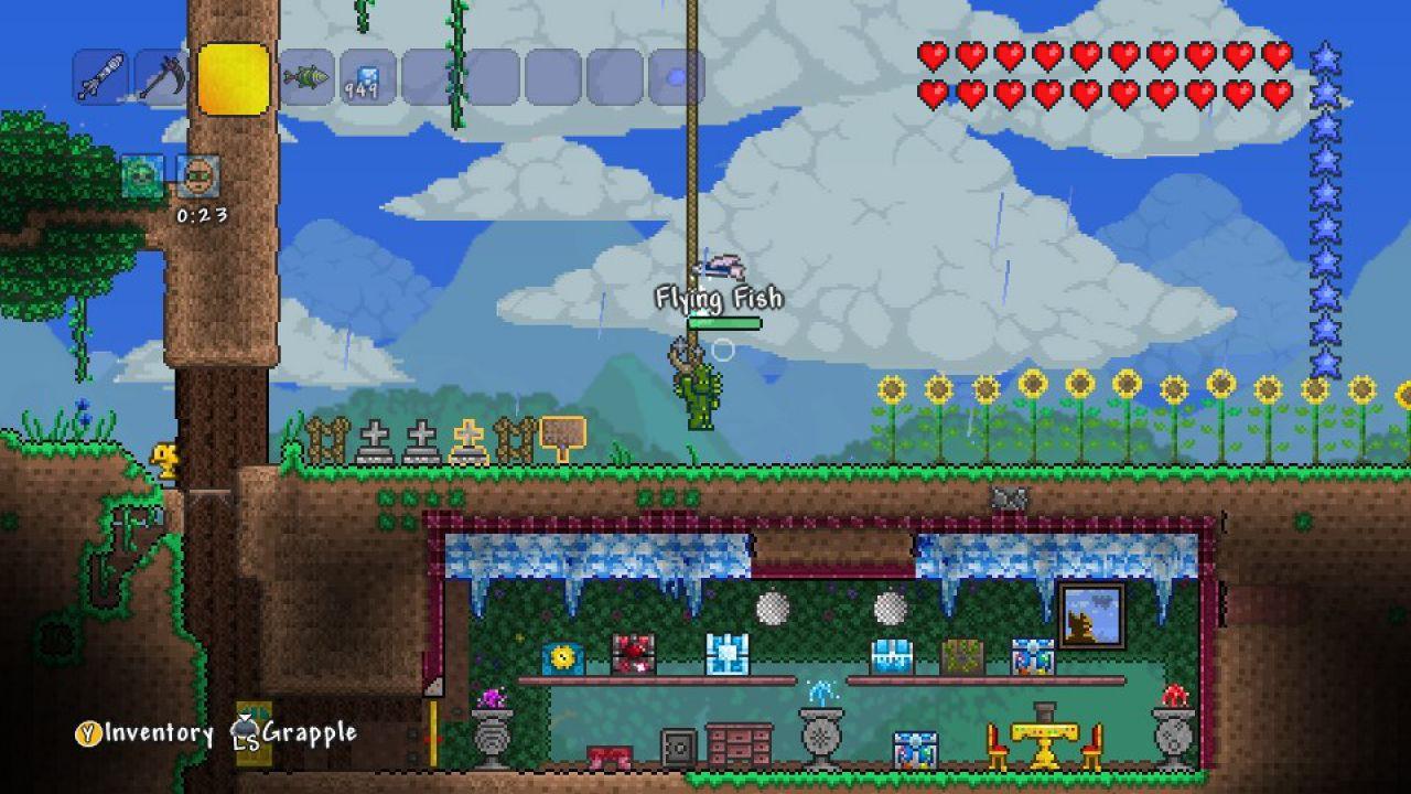 Terraria Ultimate Version arriverà la prossima settimana su PlayStation 4