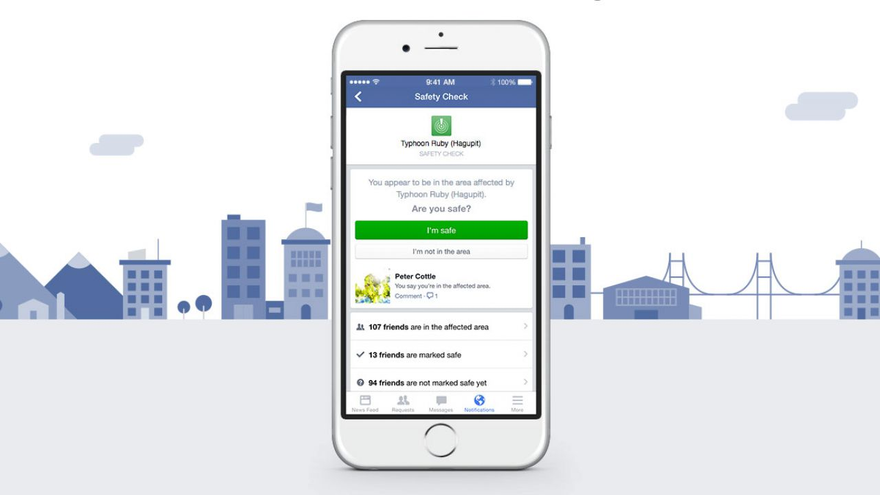 Terremoto in centro Italia, attivo il Facebook Safety Check