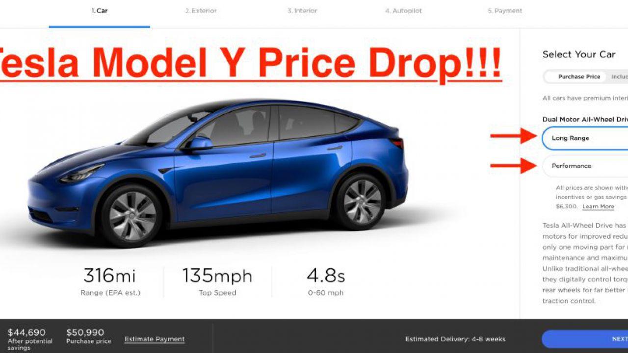 Tesla abbassa considerevolmente il prezzo della Model Y