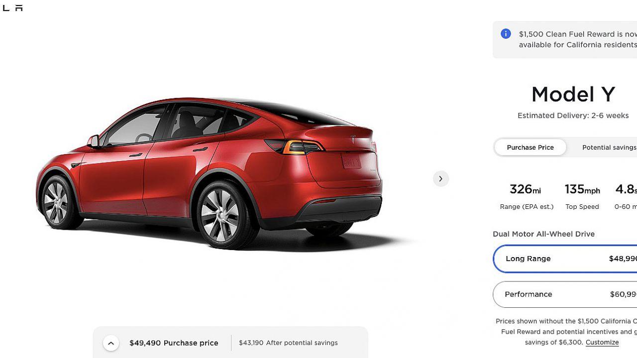 Tesla abbassa il prezzo della Model 3 e Y: le EV di Elon Musk costano sempre meno