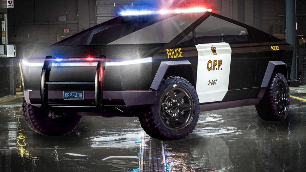 Tesla Cybertruck o Model X? La polizia canadese lo chiede direttamente a Elon Musk