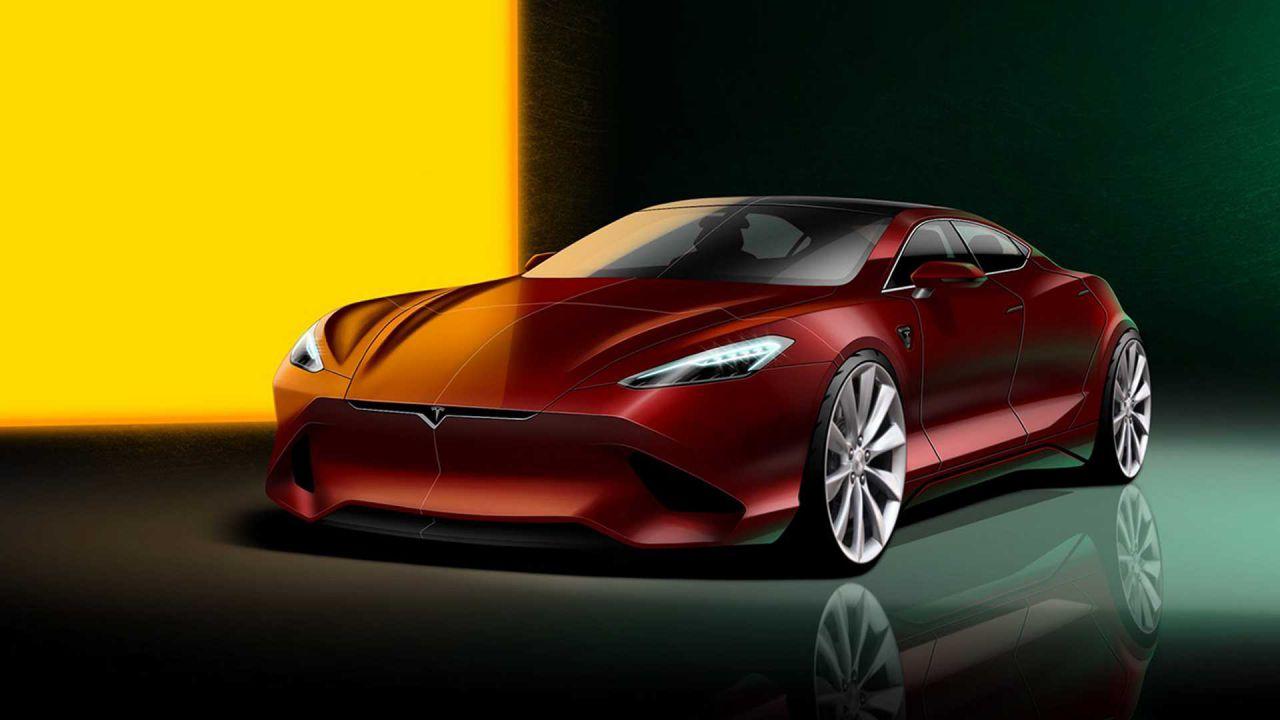 Tesla Model S di nuova generazione: sarà questo il suo aspetto?