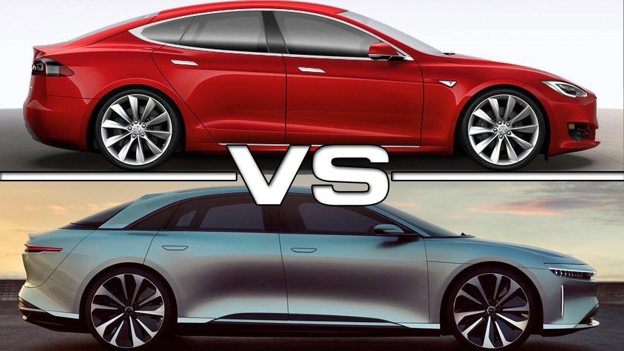 Tesla Model S Plaid contro Lucid Air Dream Edition: quale delle due è più veloce?