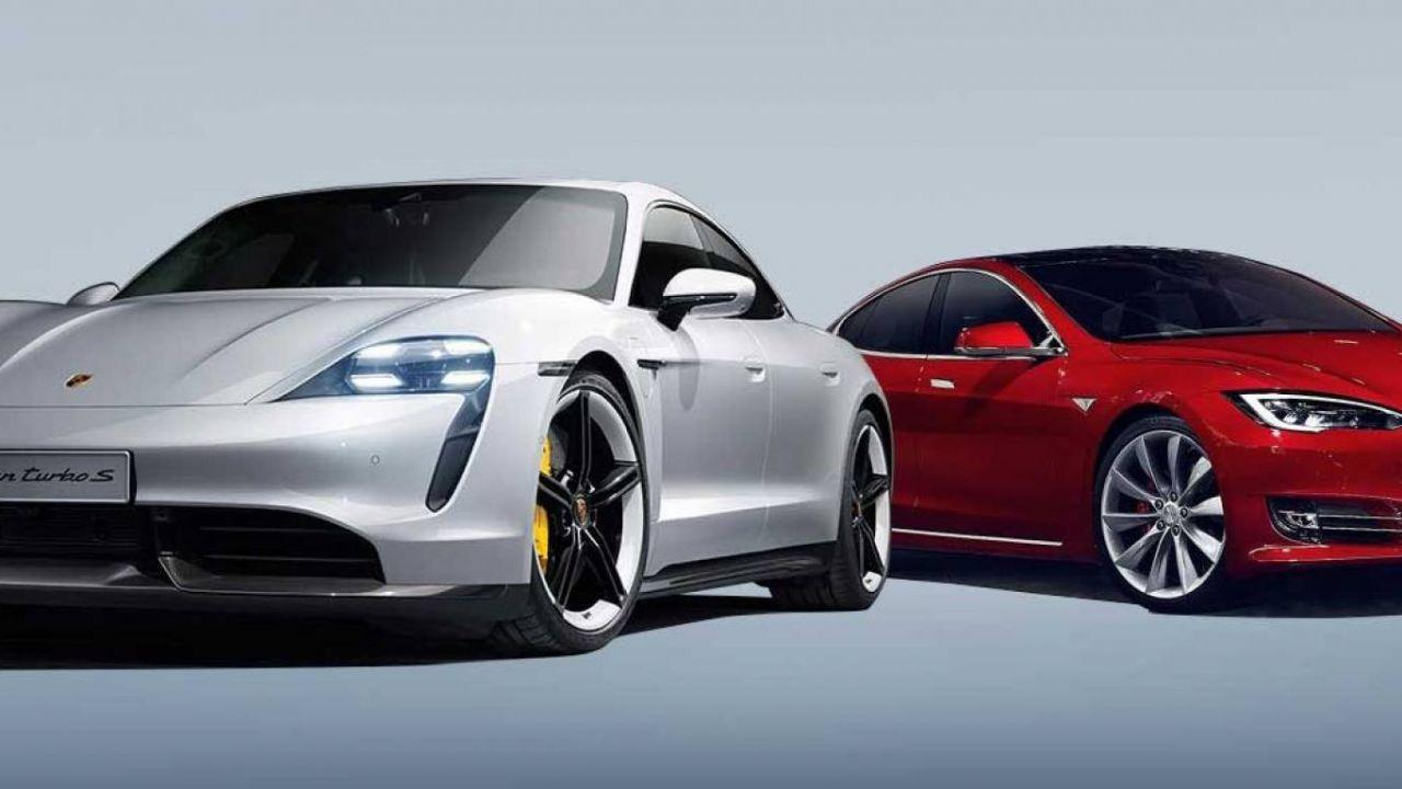Tesla Model S vs Porsche Taycan: i dettagli che fanno la differenza tra le due elettriche