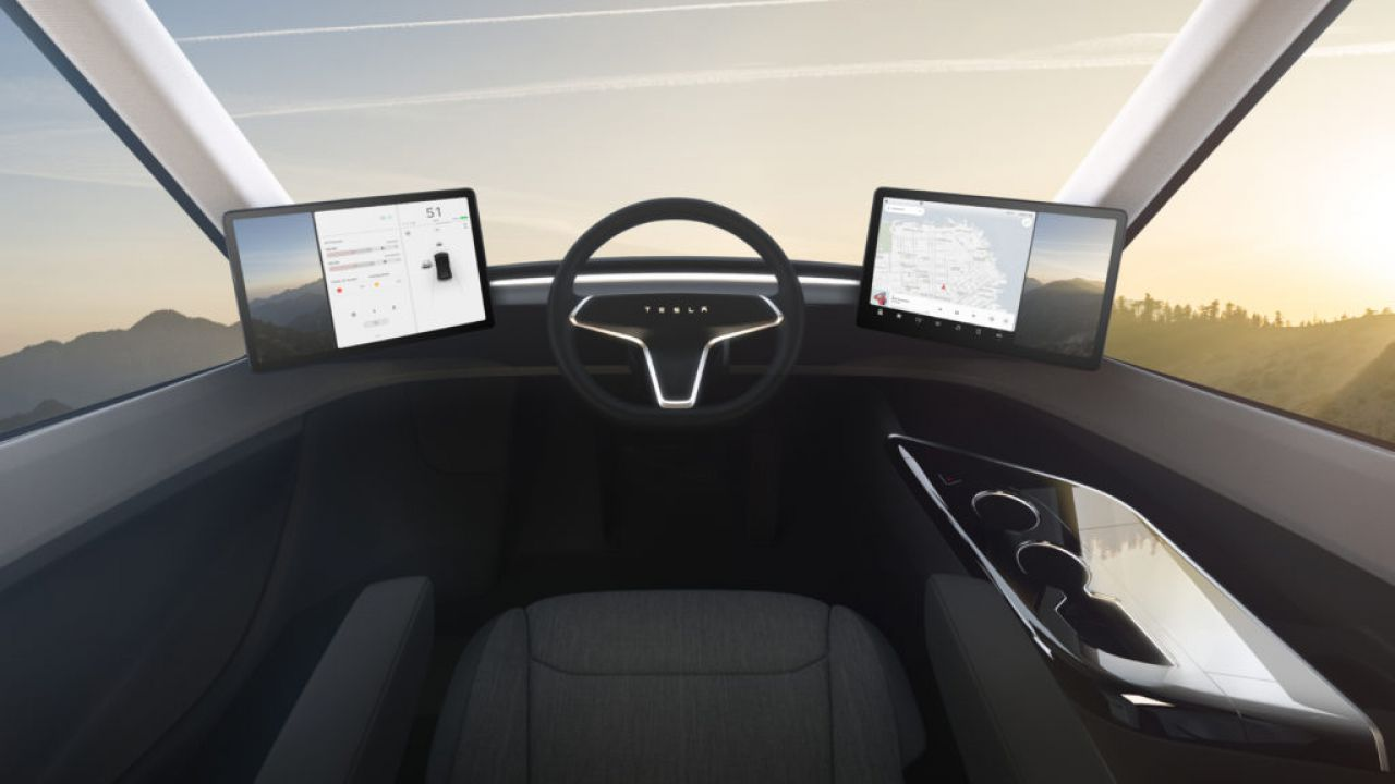 Tesla Semi: condivisa la prima immagine comparativa