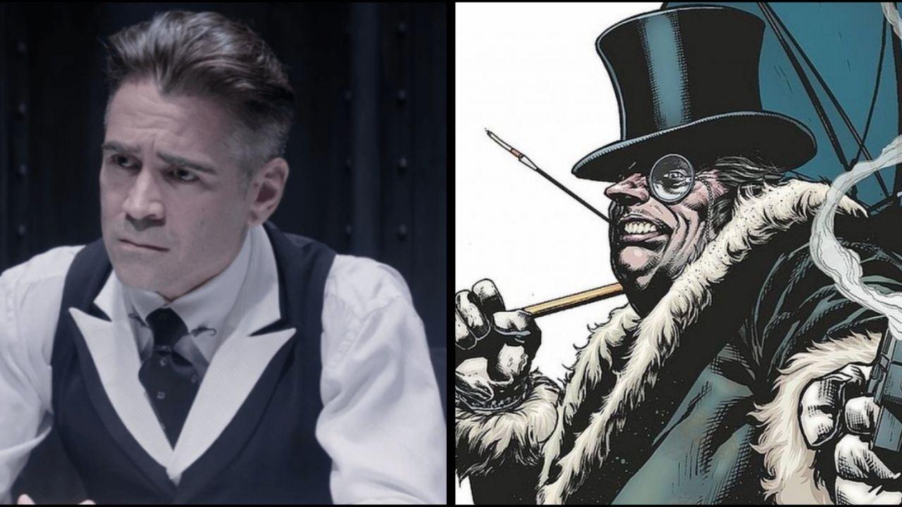 The Batman: Colin Farrell diventa l'Imperatore Pinguino in due fantastiche fan art