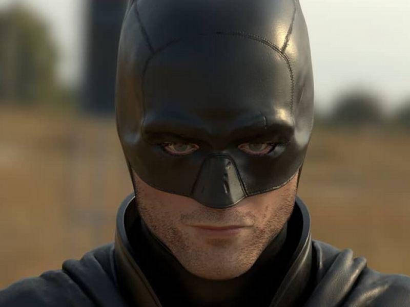 The Batman, non avete mai visto una fan-art così: guardate Robert Pattinson in 3D