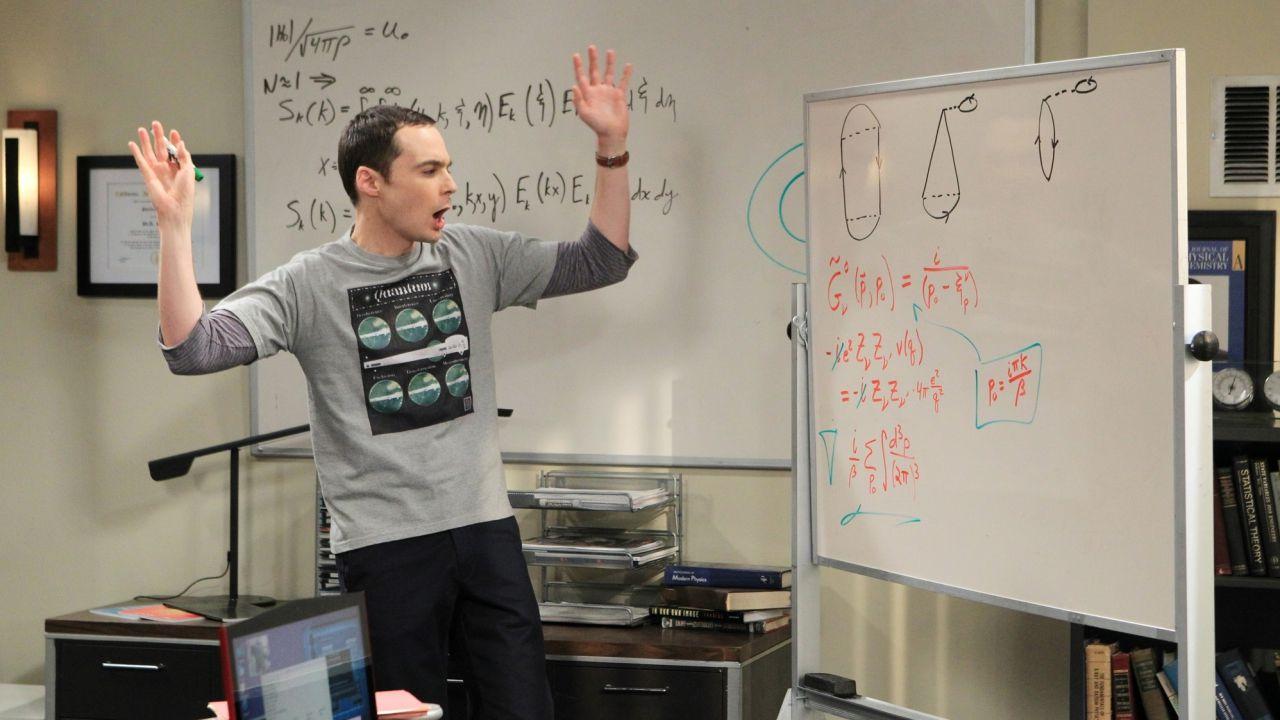 The Big Bang Theory: chi scrive le equazioni di Sheldon in ogni episodio?